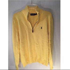 Yellow Ralph Lauren Quarter Zip